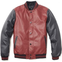 celio* | leather-look bomber jacket at $89.90