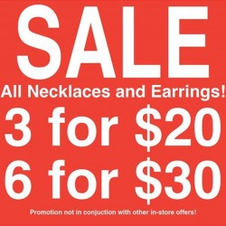 Global Work | Accessories SALE on all Necklaces and Earrings