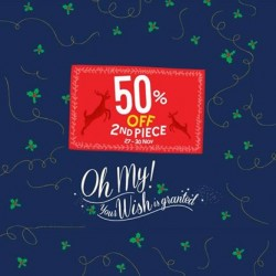 Pumpkin Patch | 50% off 2nd item Christmas Weekend Specials