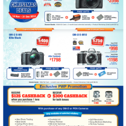 Olympus | Christmas Deals