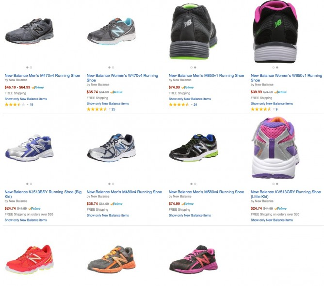 64b2dacf332ec Amazon | 45% Off New Balance Running Shoes - 👑BQ.sg BargainQueen