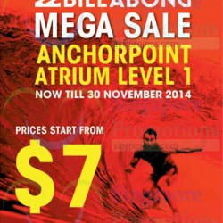Billabong | pop up sale at anchor point
