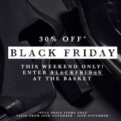 ALL SOLE | Blackfriday weekend