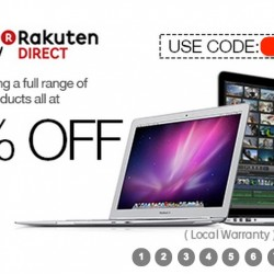 Rakuten.com.sg | extra 15% OFF Full Range of Apple Products