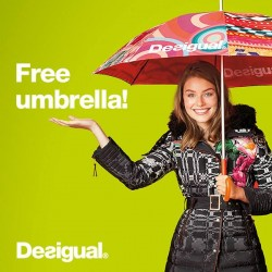 Desigual | FREE Umbrella with $169 purchase