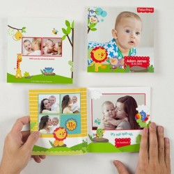 Groupon.sg | 40-page Mini Square Softcover Photobook from Photobook Singapore