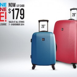 The Planet Traveller | Buy one get one free luggage promotion