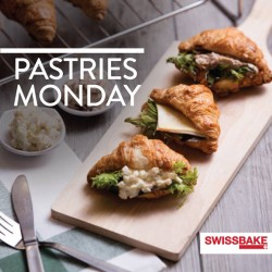 Swiss Bake: Regular Pastries at $2 & Mini Pastries at $1