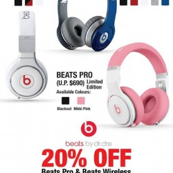 Hwee Seng | 20% off selected Beats headphones