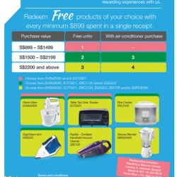 Electrolux | FREE gift of your choice with every min $899 spend