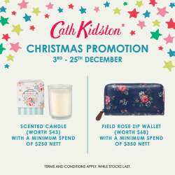 Cath Kidston   Christmas Promotion with free gifts