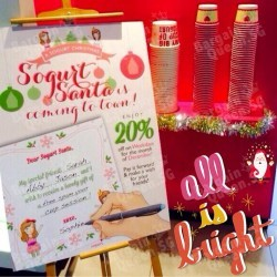 Sogurt | 20% off on weekdays at all outlets
