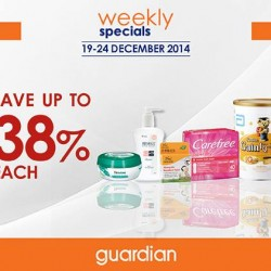 Guardian | 38% on health and beauty product
