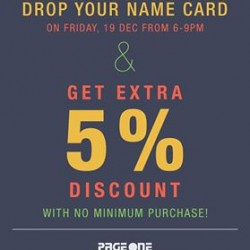 Page One | Pop Up Sale extra 5% off