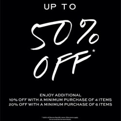 Banana Republic | 50% off Year End Sale