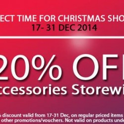 GadgetWorld | 20% off storewide accessories sale