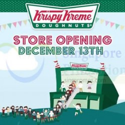 Krispy Kreme | Great World City opening special
