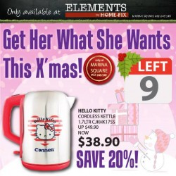 Home-Fix   20% off hot-selling Hello Kitty appliances