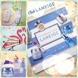 LANEIGE | Free 2015 calendar give-away