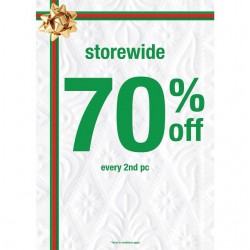 Giordano   store-wide 70% OFF every second piece