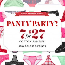 Victoria's Secret USA | Panty Party Sale