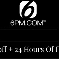 6pm   15% OFF Storewide coupon code