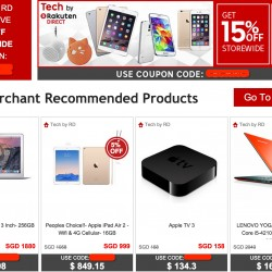 Rakuten.com.sg | 20% OFF Coupon Code @ TECH BY RD
