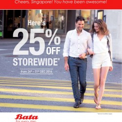 Bata Singapore | 2014 Year End Sale