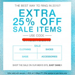 Shopbop | Up to 75% OFF + Additional 25% OFF Sale items