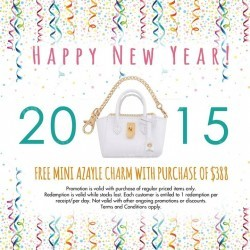 Samantha Thavasa | free Mini Azayle charm with $388 purchase
