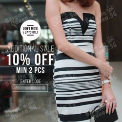 Extra 10% off sale items @ MDS collections