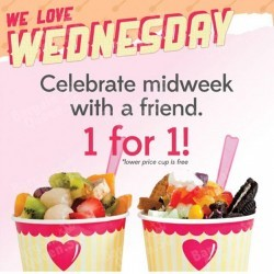 MIDWEEK 1-FOR-1 special @ Sogurt
