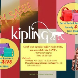 Chinese New Year Sale @ Kipling
