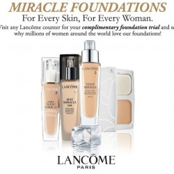 Lancôme | Free foundation trial giveaway