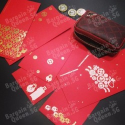 Free red packets with any purchase @ Porter Wisma