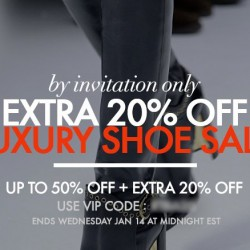Forzieri | 50% off shoes clearance + extra 20% off code