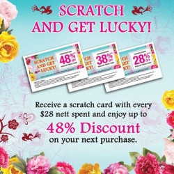 The Cocoa Trees | Scratch & Get Lucky promotion