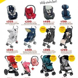 UP to 50% off selected strollers and carseats @ Spring Maternity & Baby