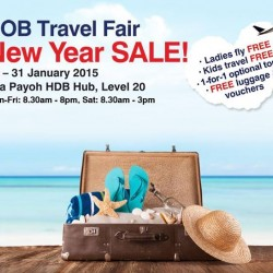 UOB Travel Fair New Year Sale