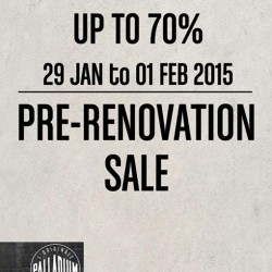 Pre-Renovation Sale up to 70% off @ Palladium Boots