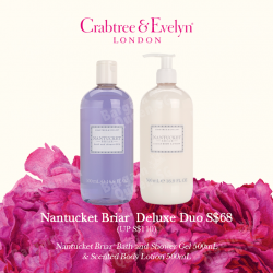 Nantucket Briar deluxe duo @ Crabtree & Evelyn