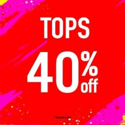 40% Off for All Tops at Denizen