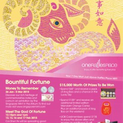 Chinese New Year promotion @ One Raffles Place