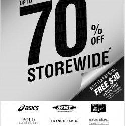 up to 70% off storewide @ Catalogs