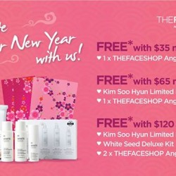 Lunar New Year promotion @ The Face Shop