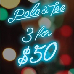 Denizen | Any 3 Polo & Tee for only $50