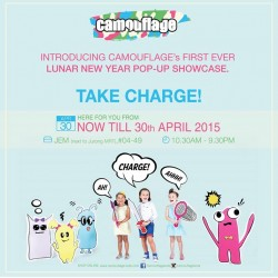 20% off with min. spend of $128 @ Camouflage Kids