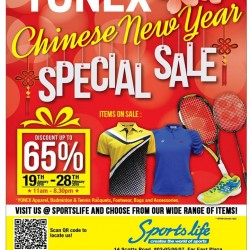 Yonex Chinese New Year Special Sale