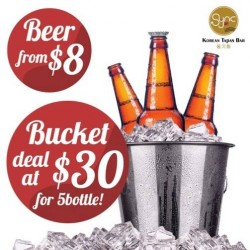 Sync Korean Fusion Bistro | Beer bucket @ $30