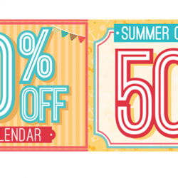 Artbox | 50% off summer collection apparels & 2015 calendar